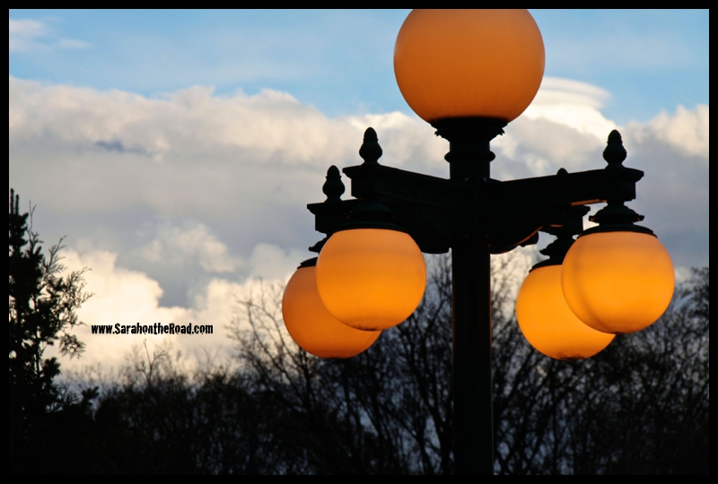 Awesome street lights...