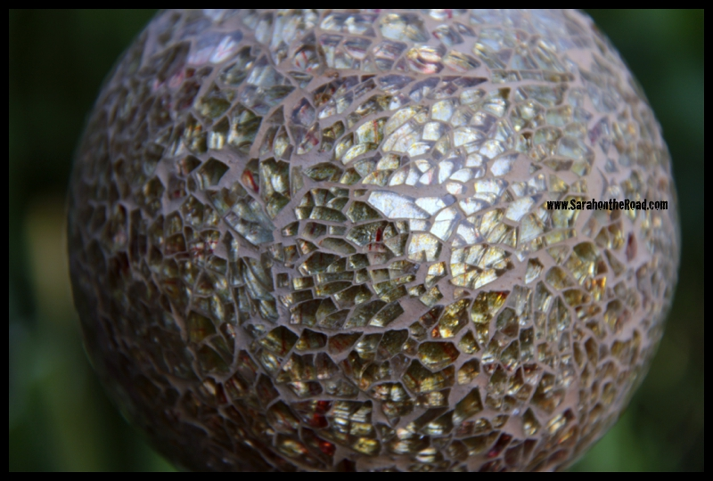 Glass Ball for garden