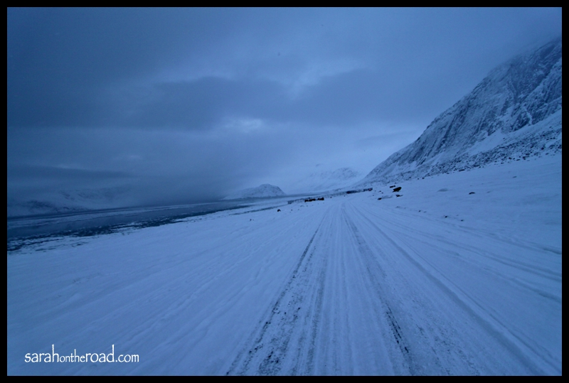 Pangnirtung Walk to the End of the Road