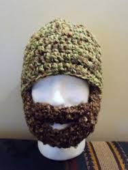Bearded lady hat