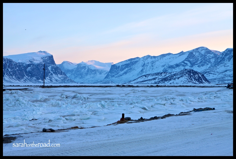 Pangnirtung Pass...mountains at 6:30am
