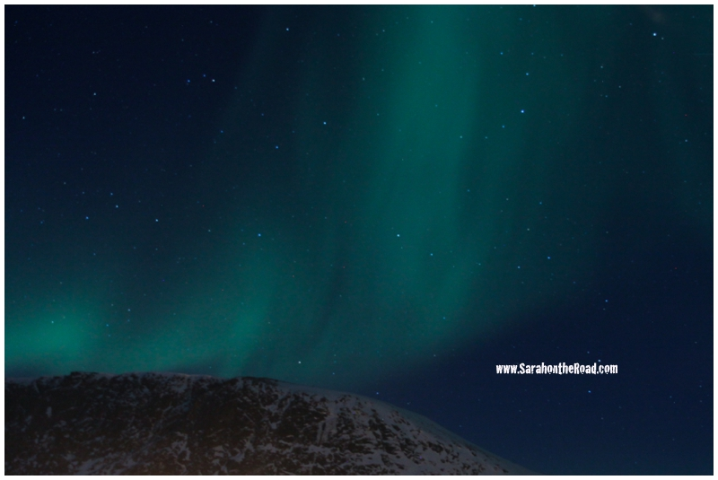 Northern lights in Pangnirtung