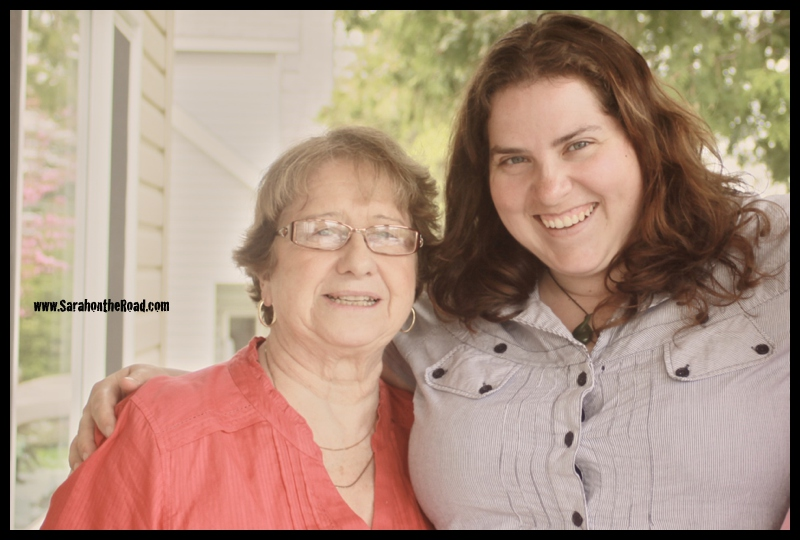 One of my Favourite most 'recent' photos of Gramma and I... (May 2011)