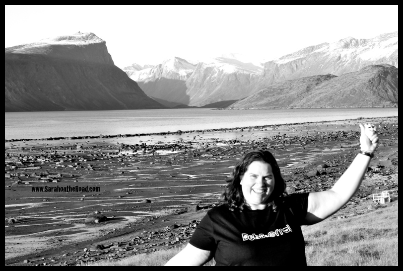 Debs & Errol tshirt in Pangnirtung