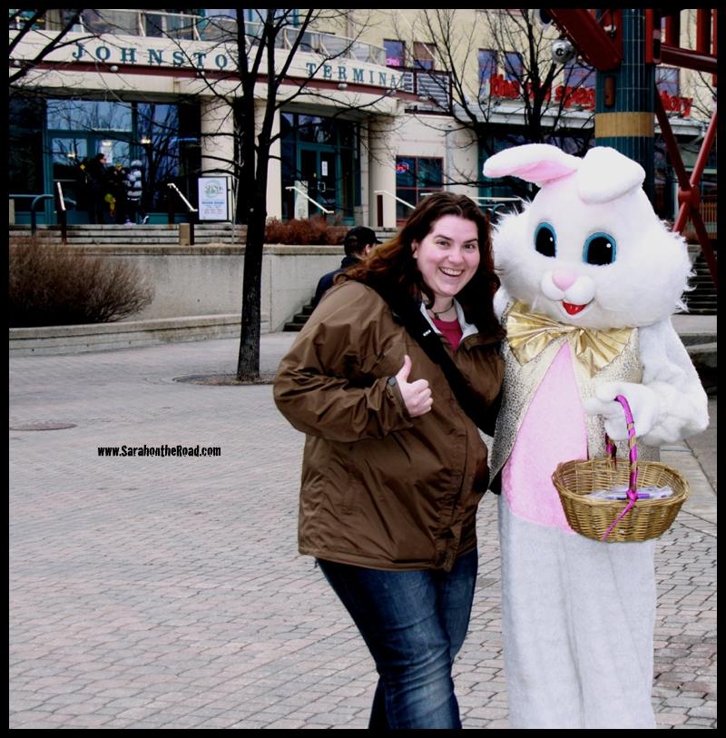 Me and the Easter Bunny