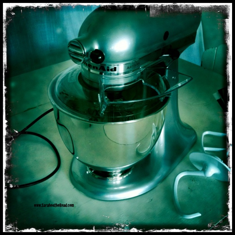 Kitchen Aid out of the box...