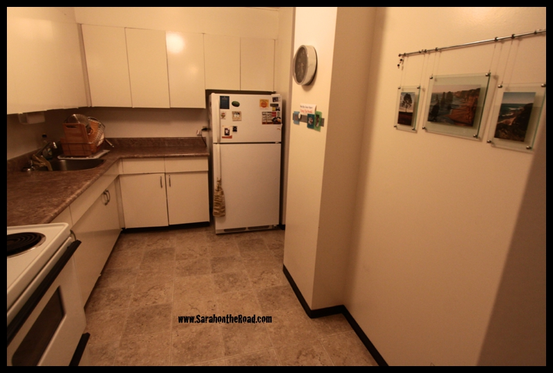 Kitchen after photo