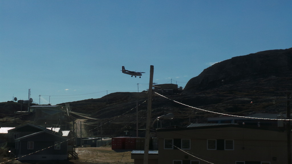 Twin Otter coming in