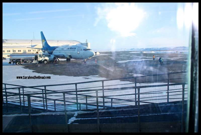 Iqaluit Airport from March 16, 2009...