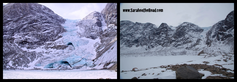 CraterLake (April 19, 2009 LEFT) (May 2, 2015 RIGHT)